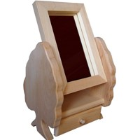 Jewellery box with a mirror – deciduous tree