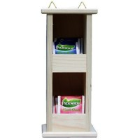 Hanging tea shelf 2x1