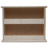 Standing tea shelf 2x4