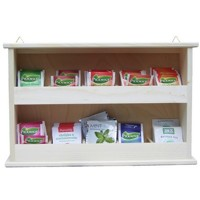 Hanging tea shelf 2x5