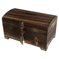 Small treasure chest – old wood walnut
