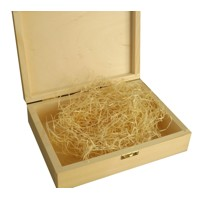 Wooden box for photographs