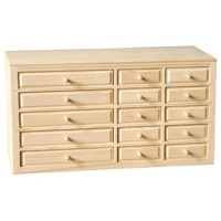 Box with 15 drawers