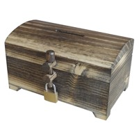 Small treasure chest – old wood wenge