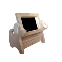 Jewellery box with a mirror – dog