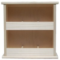 Standing tea shelf 2x3