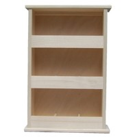 Standing tea shelf 3x3