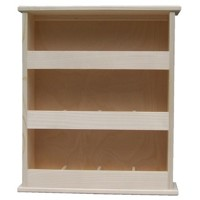 Standing tea shelf 3x4