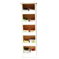Hanging tea shelf 5x2 (465Z)