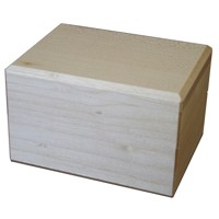 Box for wedding rings maple